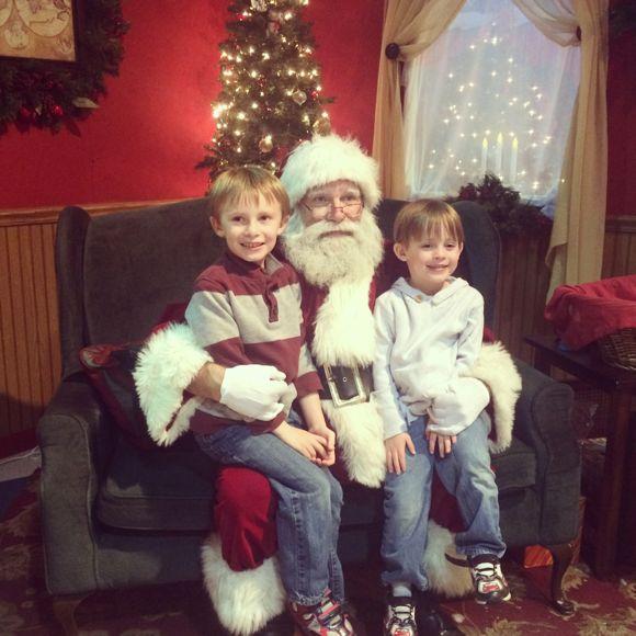 Hersheypark Visit with Santa