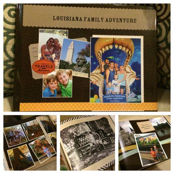 I loved my new Shutterfly book highlighting my recent Louisiana vacation!