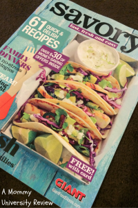 Savory Magazine Review