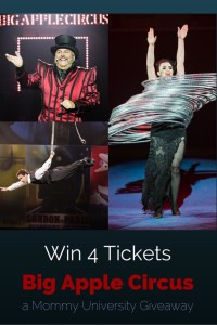 Big Apple Circus Giveaway