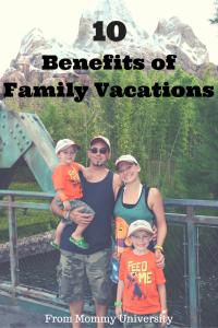 Benefits of Family Vacations