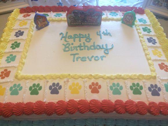 Dog Birthday Cake Nj
