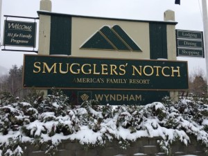 Smugglers' Notch Welcome Sign