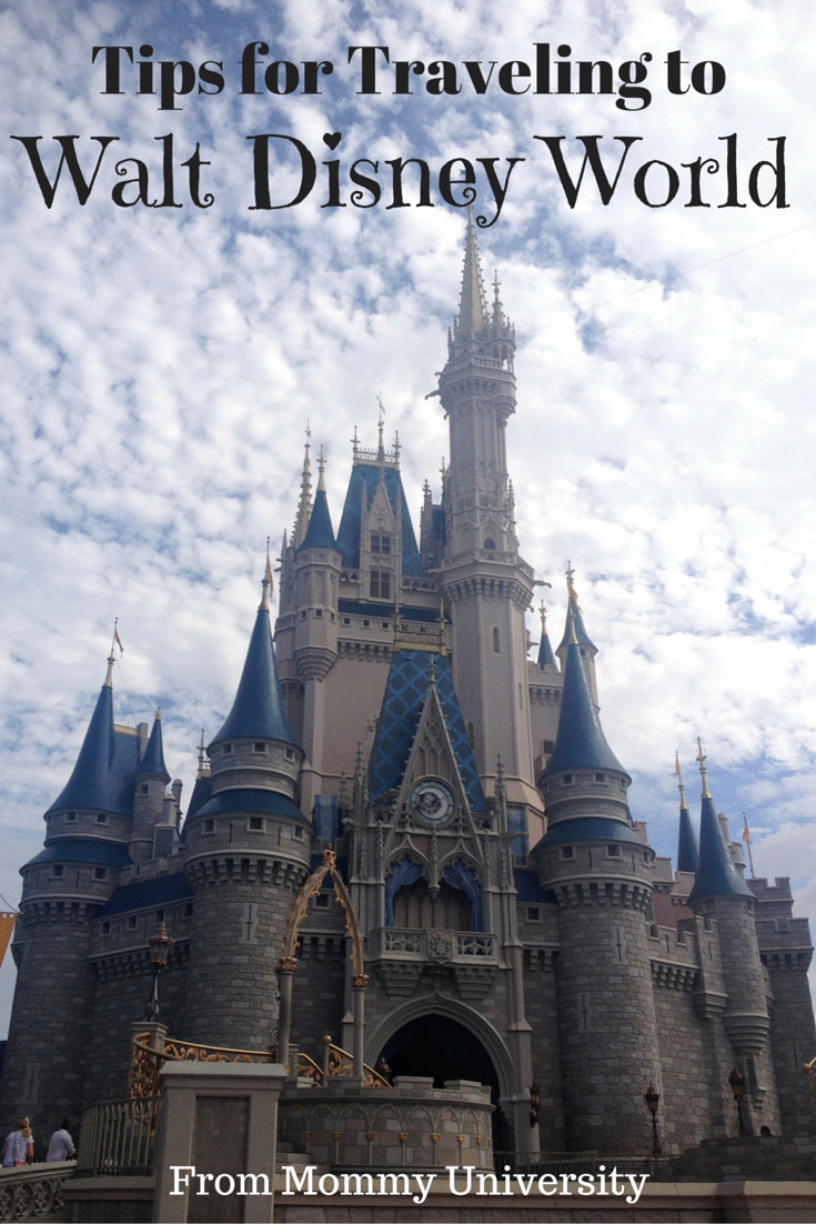 Tips for Traveling to Walt Disney World