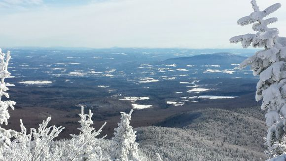 View from top of Smuggs Ski Mountain