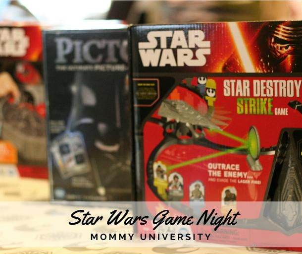 star wars game night