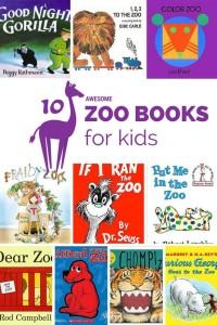 10 Awesome Zoo Books