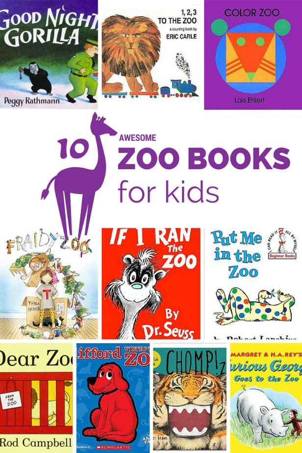 10 Awesome Zoo Books