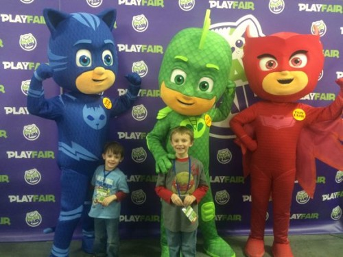 PJ Masks at Play Fair
