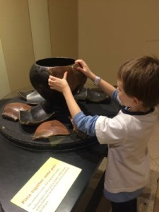 Piecing Together a Pot The Franklin Institute