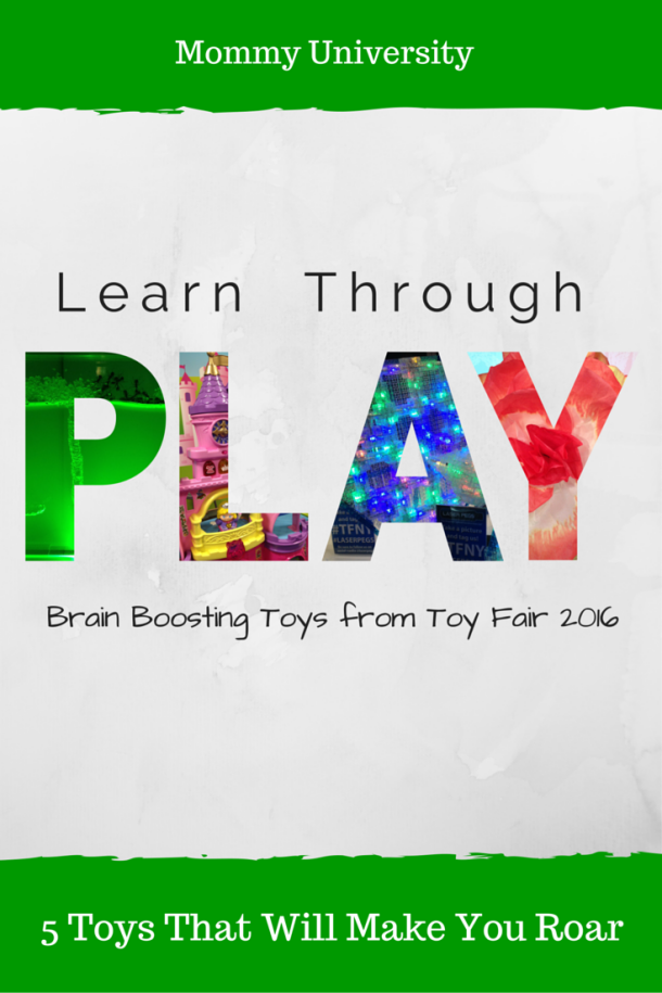 Brain Boosting Toys at Toy Fair
