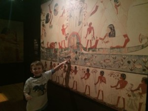 Tomb Art at The Franklin Institute