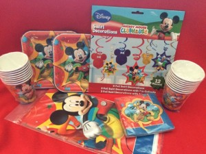 Disney Kids Party Supplies