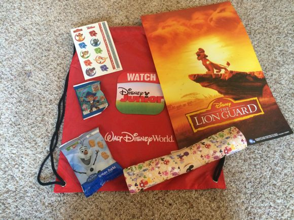 Disney Kids Playdate Favors
