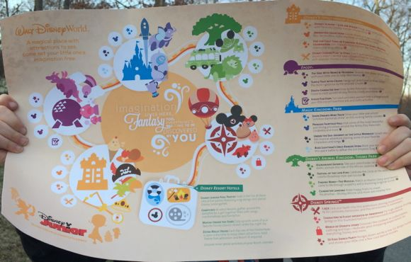 Disney Kids Playdate Map