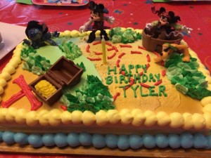 Disney Kids Playdate Pirate Cake