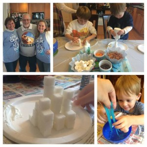 For my Frozen party, I knew the kids loved hands-on activities so I made sure I had plenty to do!