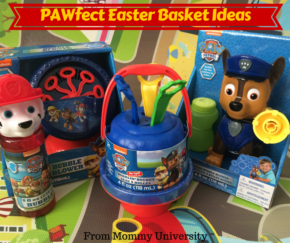 Pawfect gift ideas from little kids inc mommy university pawfect easter basket ideas negle Choice Image
