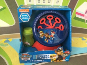Paw Patrol Motorized Bubble Machine