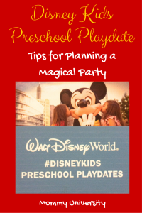 Tips for Planning a Disney Kids Preschool Playdate
