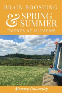 Brain Boosting Spring and Summer Events at Farms