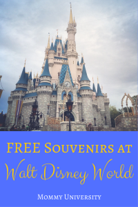 FREE Souvenirs at Walt Disney World
