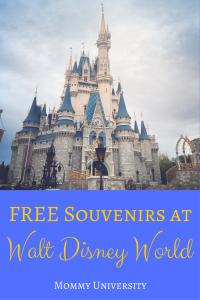 FREE Souvenirs at Walt Disney World