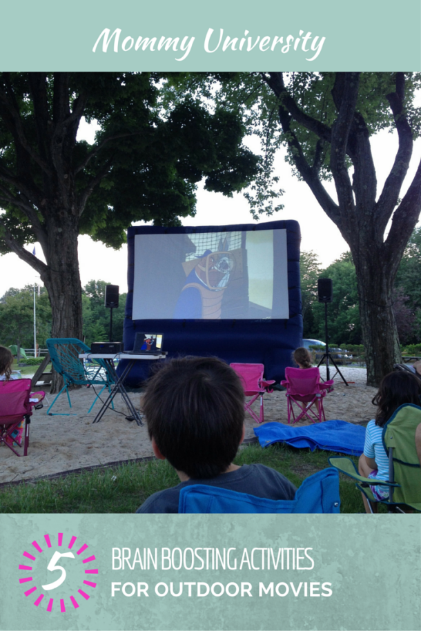 Activities for Outdoor Movies