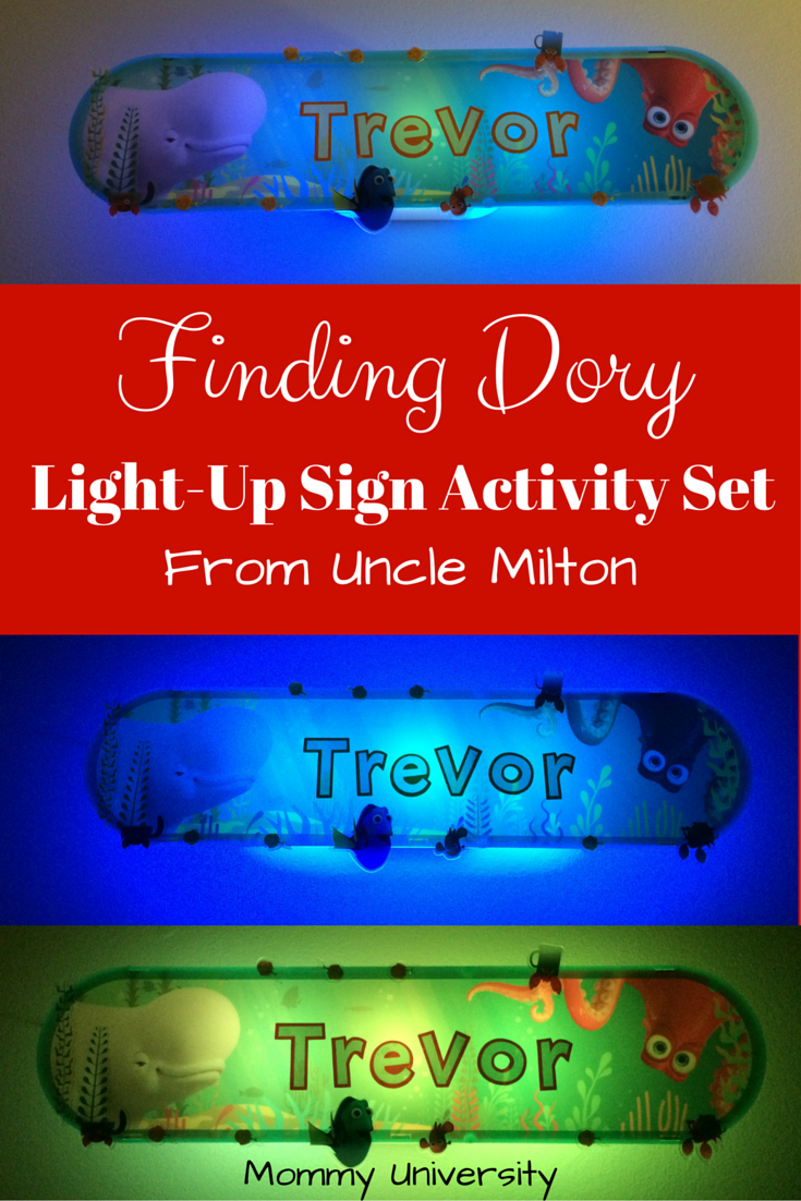 Finding Dory Light-Up Sign Review
