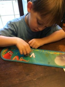 Finding Dory Sign Using Fine Motor Skills