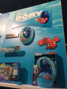 Finding Dory at Toy Fair