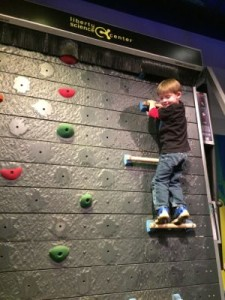 LSC Moving Climbing Wall