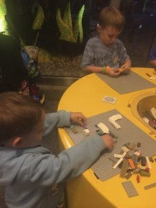 My boys love building their own Lego cars at the Lego Store at Disney Springs!