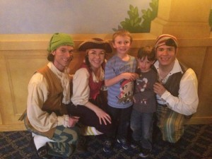 Meeting the Pirates at The Growing Stage