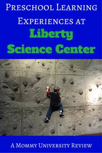 Preschool Learning Experiences at Liberty Science Center