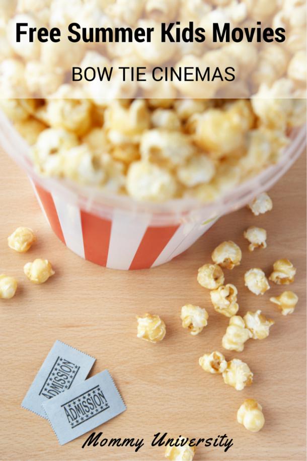 Bow Tie Cinemas Free Summer Movies