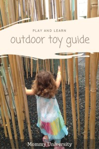 Play and Learn Outdoor Toy Guide 2016