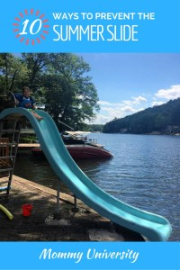 10 Ways to Prevent the Summer Slide