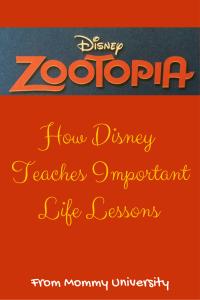 Zootopia Life Lessons