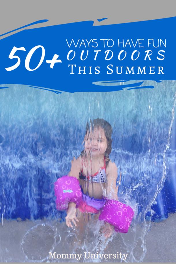 Summer Fun Outdoors