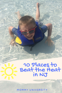 10 Places to Beat the Heat in NJ