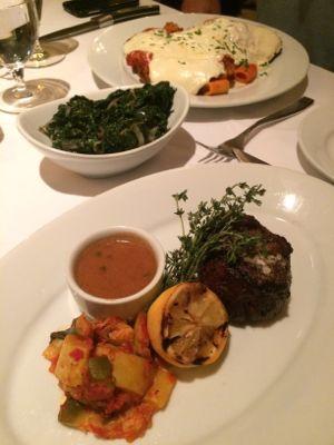Dinner at Bistecca