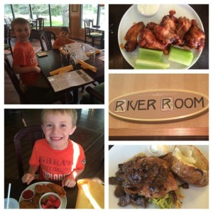 Dinner at the River Room