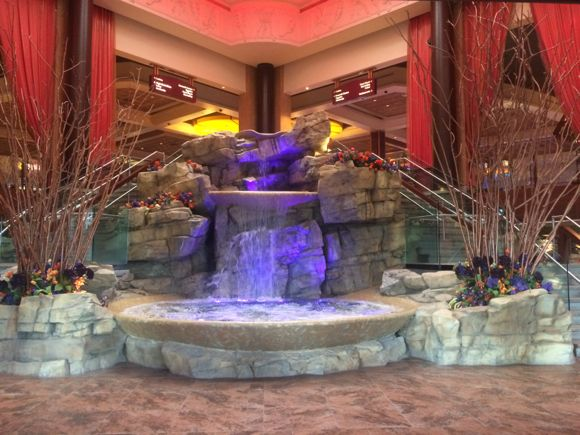 Mount Airy Lobby Fountain