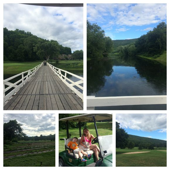 Shawnee Inn Golf Cart Tour Collage