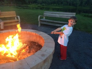 S'mores at Shawnee Inn