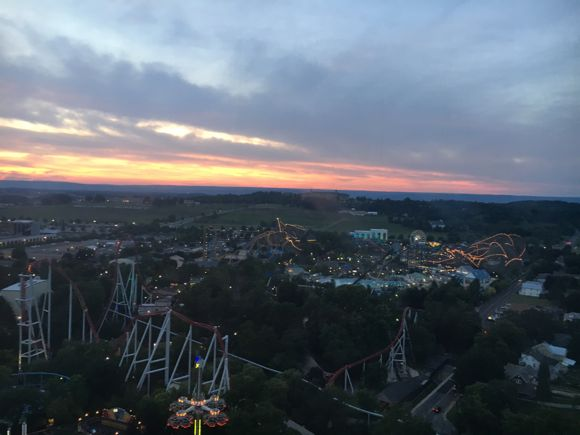 Sunset from Kissing Tower