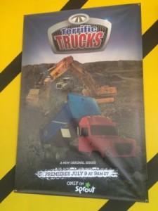 Terrific Trucks Premiere Poster