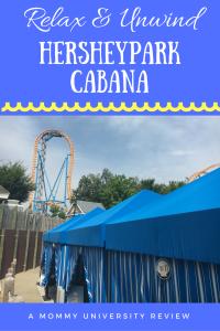 Hersheypark Cabana