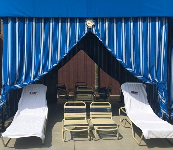 Hersheypark Cabana Chairs